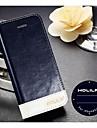 allspark® 100% nature vachette cas de portefeuille en cuir pour iphone 5/5 ans avec fente pour carte de support (couleurs assorties)