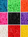baoguang®600pcs цвета радуги ткацкий станок моды ткацкий станок резинку (клип 1package S, разных цветов)