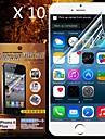 아이폰 기가 플러스 / 6 플러스에 대한 보호의 HD 화면 보호기 (10PCS)