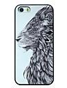 génial lion motif pc dur cas de retour de couverture pour iphone 5 / 5s