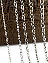 cadeias de liga eruner®0.7mm jóias diy (1m, cores sortidas)