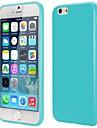 Para Capinha iPhone 6 / Capinha iPhone 6 Plus Other Capinha Capa Traseira Capinha Cor Única Macia TPU iPhone 6s Plus/6 Plus / iPhone 6s/6