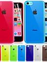 caso duro de cor sólida ultra-5c para iphone (cores sortidas)