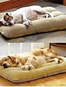 \ Большая собака животное гнездо с бараниной замши матовый 100 * 56
