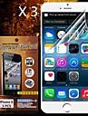 아이폰에 대한 보호의 HD 화면 보호 기가 / 6 (3PCS)
