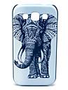 용 삼성 갤럭시 케이스 패턴 케이스 뒷면 커버 케이스 코끼리 PC Samsung Win