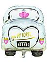 voiture de mariage aluminium mariage de membrane ballon