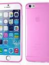 Прозрачный силиконовый ультратонких задняя крышка для iphone 6с 6 плюс