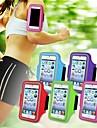 """gymnase du sport courir cas bande de bras de brassard pour iPhone 6 cas 4.7 """"(de couleur assortie)"""