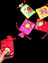 Push and Laugh Smiling Face Big Nose Bag Stress-Reliever Practical Joke(Random Color,10x10x4cm,1PCS)