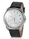 Мужской Нарядные часы Кварцевый PU Группа Черный Коричневый марка