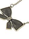 классический бронзовый бантом форма ожерелье (1 шт)