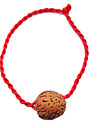 China Red Classic Red Rope Bracelet Symbolize Wealth and Walnuts
