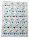 радуга рисунок мультфильм поделки фото угловой защитник стикер (24 наклейки / шт)