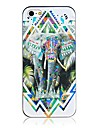 For iPhone 5 Case Case Cover Pattern Back Cover Case Elephant Hard PC for iPhone SE/5s iPhone 5