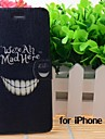 Cartoon Crazy Teeth Pattern Leather Full Body Cases with Stand and Slot for iPhone 6