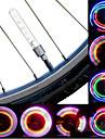 Велосипедные фары / колесные огни / Колесные огни LED Велоспорт солнечные батареи Люмен Батарея Велосипедный спорт-Освещение