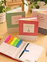 различные формы самоклеющейся Примечания шариковой ручкой (случайный цвет)