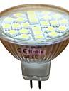 mr16 (gu5.3) 3W 24 × 5050smd 330lm 6000k холодный белый свет привели пятно света (dc12v)