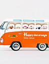 nota feliz scrapbooking bus autoadhesivas (color al azar)