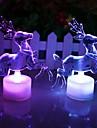 Coway Рождество оленей акрил красочные привело ночник