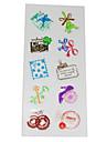 прекрасная марка ПВХ скрапбукинга украсить наклейки (7шт)