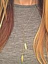 Femme Pendentif de collier Alliage bijoux de fantaisie Mode Européen Bijoux Pour Quotidien Décontracté