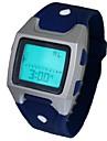 despertador multi-funcional relógio desportivo pulso banda de silicone digitais dos homens (cores sortidas)
