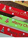 3/8 дюйма Рождеством и красивый снег шаблон ребро ленты печать лента-5 двор каждый мешок