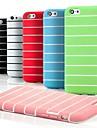 silicone transversale modèle de tenue de prison coloré couverture souple pour iPhone 6 (couleurs assorties)