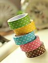 patrón simple punto el diseño de scrapbooking cinta adhesivos (3m color al azar, PC 1)