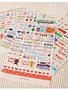 Жизнь рисунок стикер набор (6 листов)