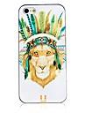 Для Кейс для iPhone 5 Чехлы панели С узором Задняя крышка Кейс для Животный принт Твердый PC для iPhone SE/5s iPhone 5
