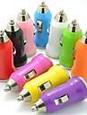 colorido carregador mini carro USB para iPod / iPhone 3G / 3GS / 4 / 4s / 5 / 5s e outros