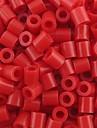 около 500 шт / мешок 5мм красный бисер предохранителей Hama бисер DIY головоломки Ева материал Сафти для детей ремесла