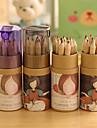 Комплект карандашей, 12 цветов (12 шт. / комплект)