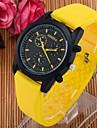 Men's Fashion Candy Silicone Quartz Sport Watches(Assorted Colors) Cool Watch Unique Watch