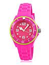 Skmei ® 2014 récents Enfants Mode silicone Bracelet montre bracelet à quartz étanche 30m couleurs assorties
