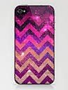 Rose Stars Wave Pattern Case for iPhone 4/4S