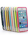 XUNDD Solid Color TPU Transparent Ultra-thin with Cover Can Touch Non-Slip Full Body Cases for iPhone 5/5S