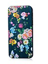 Flowers Pattern Hard Case for iPhone 4/4S