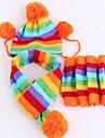 Комплект из трех частей, шапочка, шарф, для собак (разные размеры)