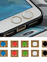 toophone® Joyland cor 3,5 milímetro botão circular adesivo para iphone e samsung (cor aleatória)