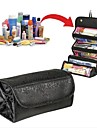 Ladies cosmetic bag Korea large capacity transparent folding dumplings 1pc