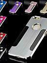design en métal brossé spéciale étui rigide pour iPhone 6 (couleurs assorties)