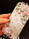 LADY®Elegant Decorated with Camellia Diamond for iPhone 6  Plus 5.5 Inch (Assorted Colors)