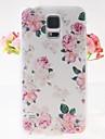 rose rose motif en relief au dos du boîtier pour les i9600 Samsung Galaxy S