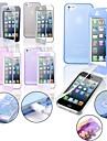 TPU caso de tocar suave completa cobertura do corpo para o iphone 5 / 5s (cores sortidas)