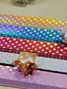 90 шт градиент шаблон точка блестящие волны повезло звезды оригами материалы (5 цвет / пакет случайный цвет)