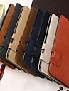 motif portefeuille d'écureuil de style cuir PU cas de tout le corps avec support et logement de la carte pour l'iphone 6 plus (couleurs